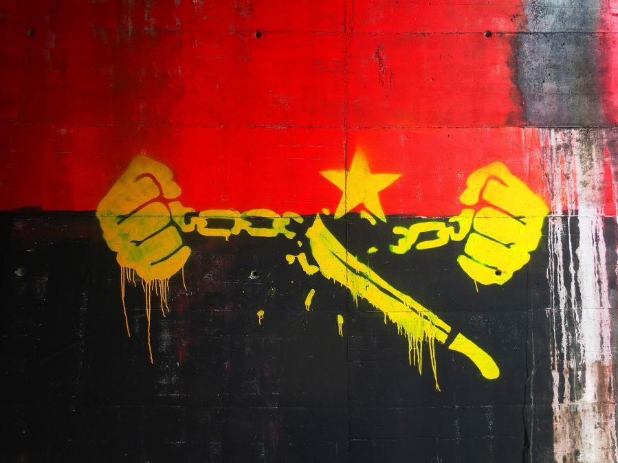 Bordalo II Free Political Prisoners, Free Angola