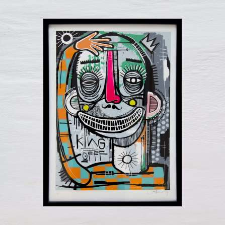 Joachim - King of Clowns Chrome Print