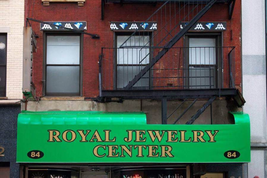 space-invader-newyork-nyc-2015-diamond-jewellery
