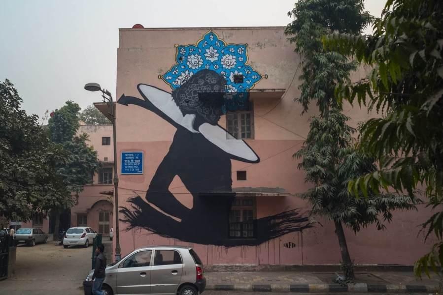Nafir Full Wall _ Lodhi_Photo by Naman Saraiya