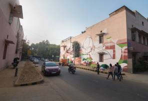Lodhi Art District - Lodhi Colony. Near the Golden Bakery in Khanna Market.
