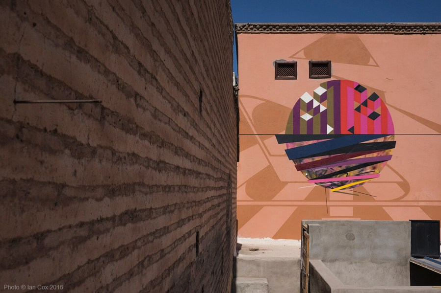 64. Remi Rough, LX.One and Yesbee collaborative mural Marrakesh_Photo_©_Ian_Cox_2016