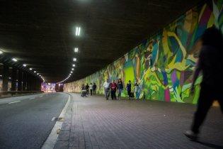 Mural H Barcelona Street Art