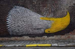 Bisser street art mural Arendschot in Aarschot Belgium