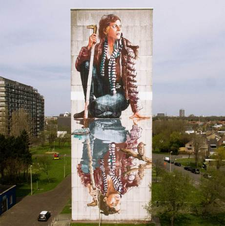 Fintan Magee at the Crystal Ship Festival Photo © Henrik Haven