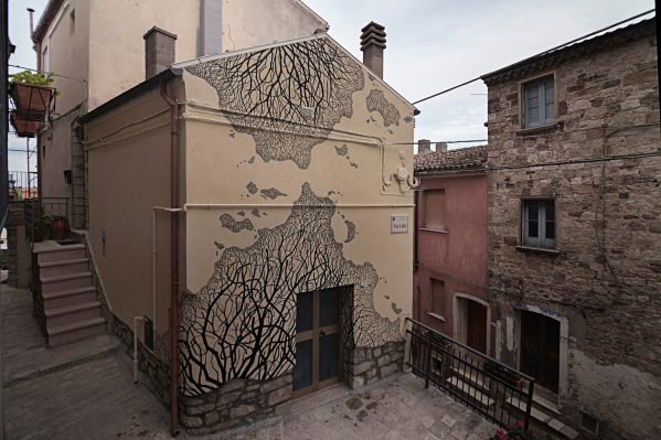 Pablo S Herrero Civitacampomarano Ctvà Street Art Festival, Italy