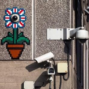 CCTVflower London Invasion 2016 Photo © Space Invader