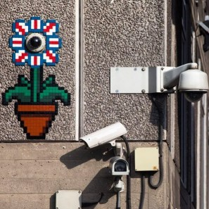 CCTVflower London Invasion 2016 Photo © Space Invader