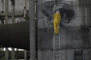 Guildo Van Helton inside Chernobyl Reactor 30 years on Photo @ Geo Leros