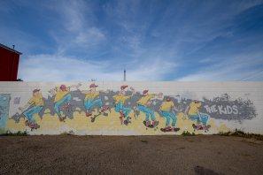 Kitt Bennett Wall to Wall Festival Benalla Photo © p1xels