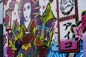Lady AIKO Dubai Walls Street Art Festival