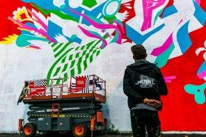 Bicicleta MURAL street Art Festival