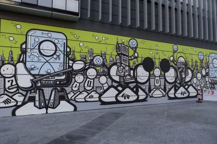 Dubai Walls Street Art Festival UAE GraffitiStreetcomNews - Amazing graffiti alters perspective space
