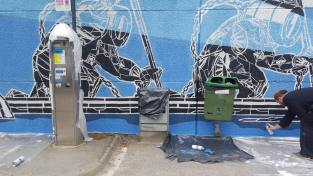 M city Sandnes street art street Norway