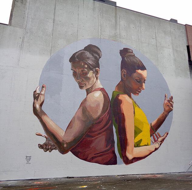 Milu Correch Street Art