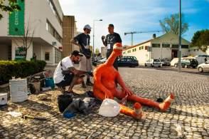 Robert Panda, Muro Street Art Festival