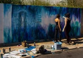 Vanessa Rosa, Muro Street Art Festival