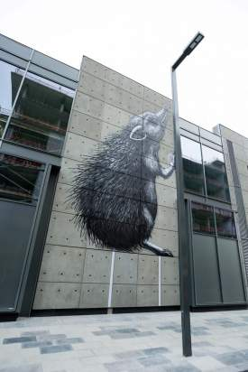 Roa Dubai Walls Street Art Festival