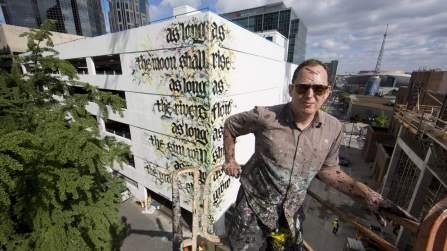 Shoe Nashville Walls Street Art Project Photo © Colin M Day