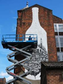Phlegm - Cities of Hope Street Art 2016
