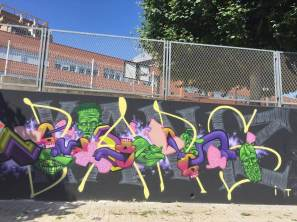 KANIZ, Mislatas Representan, Street Art & Graffiti, Valencia