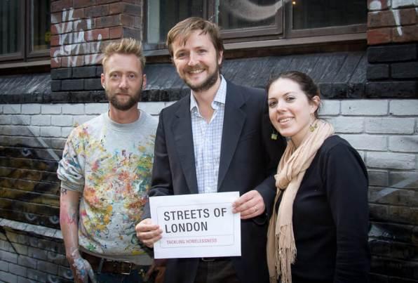 MyDogSighs, Streets of London, Tackling Homelessness