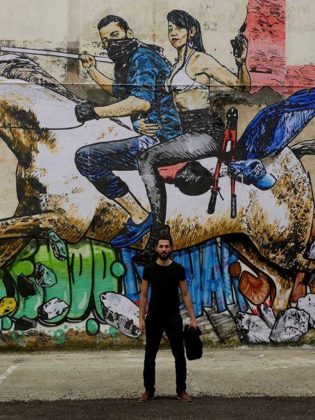 Combo, 10eme Street Art Festival, Aurillac, France Photo © Jérôme Thomas