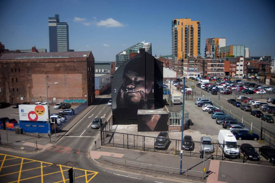 Axel Void, Cities of Hope, Manchester Photo © Axel Void