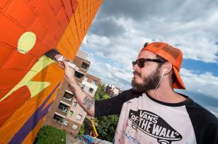 Bicicleta, Urban Nation - Street art Project M/9, Photo © Nika Kramer#projectM #UrbanNation #MuseumofUrbanAndContemporaryArt #Berlin#projectM #UrbanNation #MuseumofUrbanAndContemporaryArt #Berlin#projectM #UrbanNation #MuseumofUrbanAndContemporaryArt #Berlin