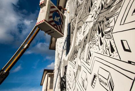 Millo, Impronte Street Art Festival photo © Salvatore Curcio