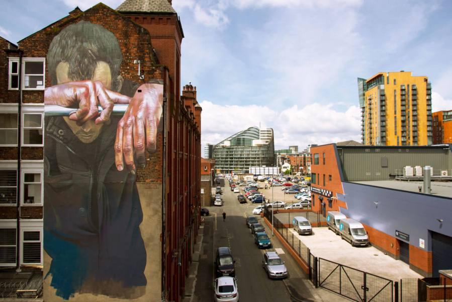 Case Maclain, Cities of Hope, Manchester Photo © Henrik Haven