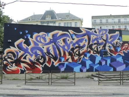 Danay and Niko, Grenoble Street Art Fest