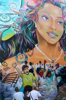 Inauguration Srek Will Greg, Grenoble Street Art Fest
