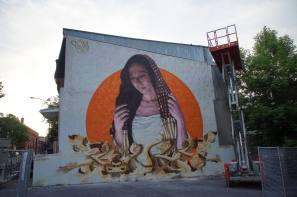 Mural Street Art Festival, Montreal, 2016 Photo © Halopigg