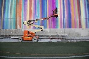 Risk, RFK Street Art Mural Photo © Agile society