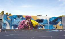 Sismikazot, 10eme Street Art Festival, Aurillac, France
