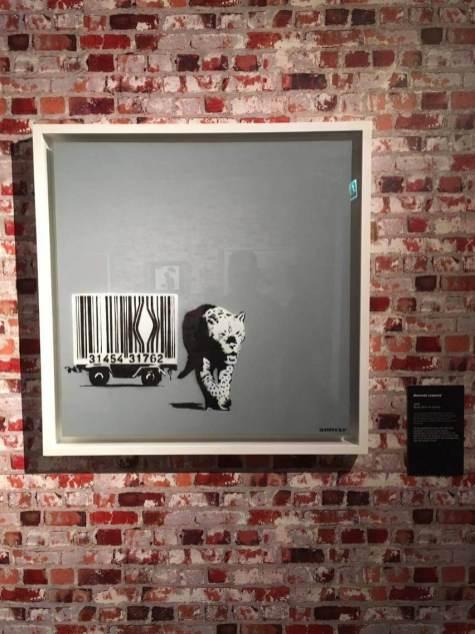 The Art of Banksy, Street Art show, Amsterdam Photo © Dan Kemp
