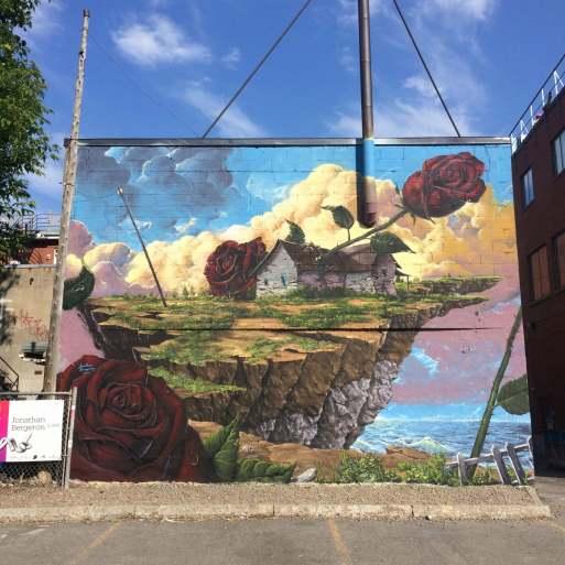 Mural Street Art Festival, Montreal, 2016 Photo © Andre Bathalon