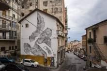 2501, Altrove Street Art Festival, Catanzaro 2016 Photo © Angelo Jaroszuk Bogasz