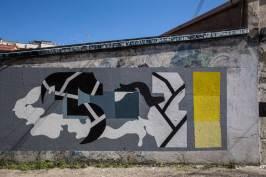 Aris THTF Alberonero, Altrove Street Art Festival, Catanzaro 2016 Photo © Angelo Jaroszuk Bogasz