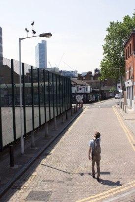 Shackwell Street London © Pejac Street Art London