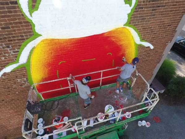 ASVP, Richmond Mural Project 2016 Photo credit TostFilms