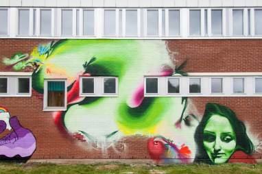 AJJA, Artscape Gothenburg Street Art Festival 2016. Photo Credit Fredrik Åkerberg