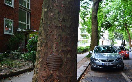 BiancoShock - Silent gifts, Public art, Hamburg. Photo credit BiancoShock