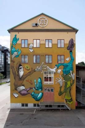 BLESS, Artscape Gothenburg Street Art Festival 2016. Photo Credit Fredrik Åkerberg