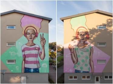 DISK, Artscape Gothenburg Street Art Festival 2016. Photo Credit Fredrik Åkerberg