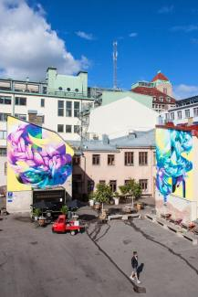 Hueman, Artscape Gothenburg Street Art Festival 2016. Photo Credit Fredrik Åkerberg