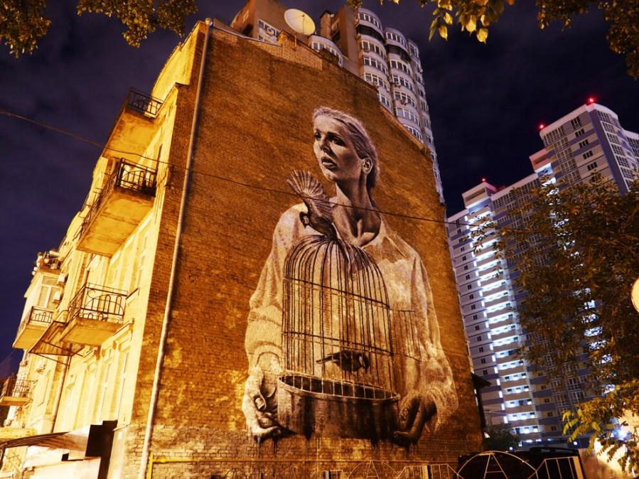 Sasha Korban street art kiev photo credit Amos Chapple:Radio Free Europe 8