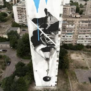 Street Artist INO, Kiev Photo © INO