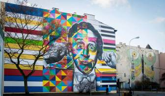 Kobra, Urban Forms street art gallery, Lodz, Poland. Photo credit M. Sikora